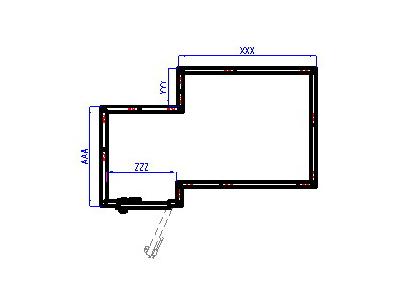 Схема холодильной камеры