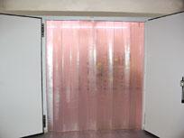 Пластиковая завеса для холодильной камеры