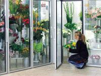 Холодильная камера для цветов